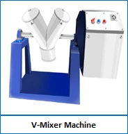 V-Mixer Machine