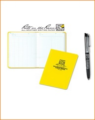 Work Book & Pen Waterproof - Copy