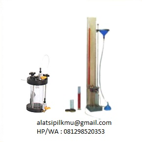 For determining coeffisient of permeability of compacted soil sample