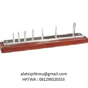 For rapid measuring the length of aggregates