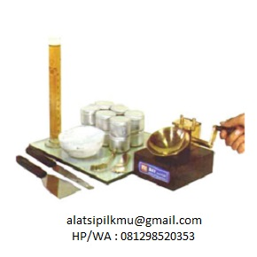 For determining liquid limit of soil sample