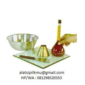 For determining the water absorption of fine aggregate at saturated surface dry