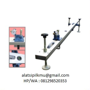 For measuring the deflection of flexible pavement under the action of moving wheel loads