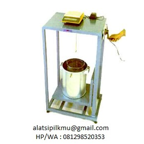 For determining specific gravity and water absorption of coarse aggregate