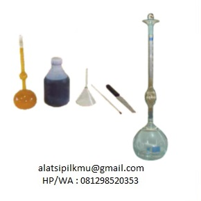 For determining specific gravity of hydraulic cement
