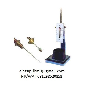 For determining normal consistency and time of setting of hydraulic cement