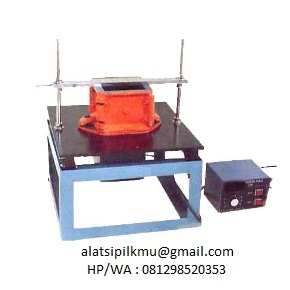 For compacting aggregate in steel container or concrete sample in cube or cylinder