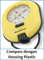 Compass dengan Housing Plastic