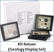 Kit Batuan (Geology Display Set)
