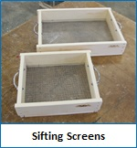 Sifting Screen