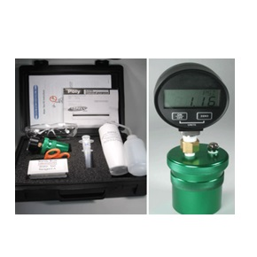 Use for free water content in any oil up to 50 ppm (0.005%)
