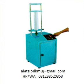 For extruding soil speciment from 68 mm dia sampling tube (hand boring part SO-117), electric, 220 Volt, 750 Watt, 1 Phase.