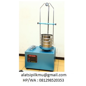 220 V-AC, 1/4 HP, 300 Watt, Steel base, cast alumunium pulley, 8inch sieve diameter, 8 pcs sieve capacity