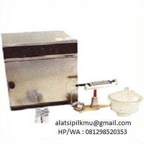 For determining moisture content of soil sample