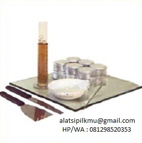For determining plastic limit of soil sample